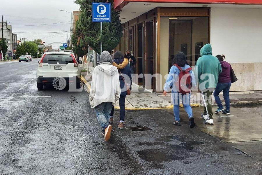 Para este miercoles, bajas temperaturas y lluvia en Hidalgo
