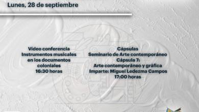 Cartelera cultural Hidalgo