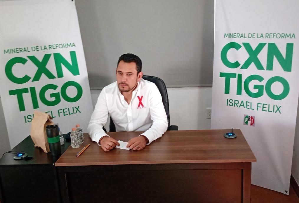 Candidato del PRI en Mineral de la Reforma