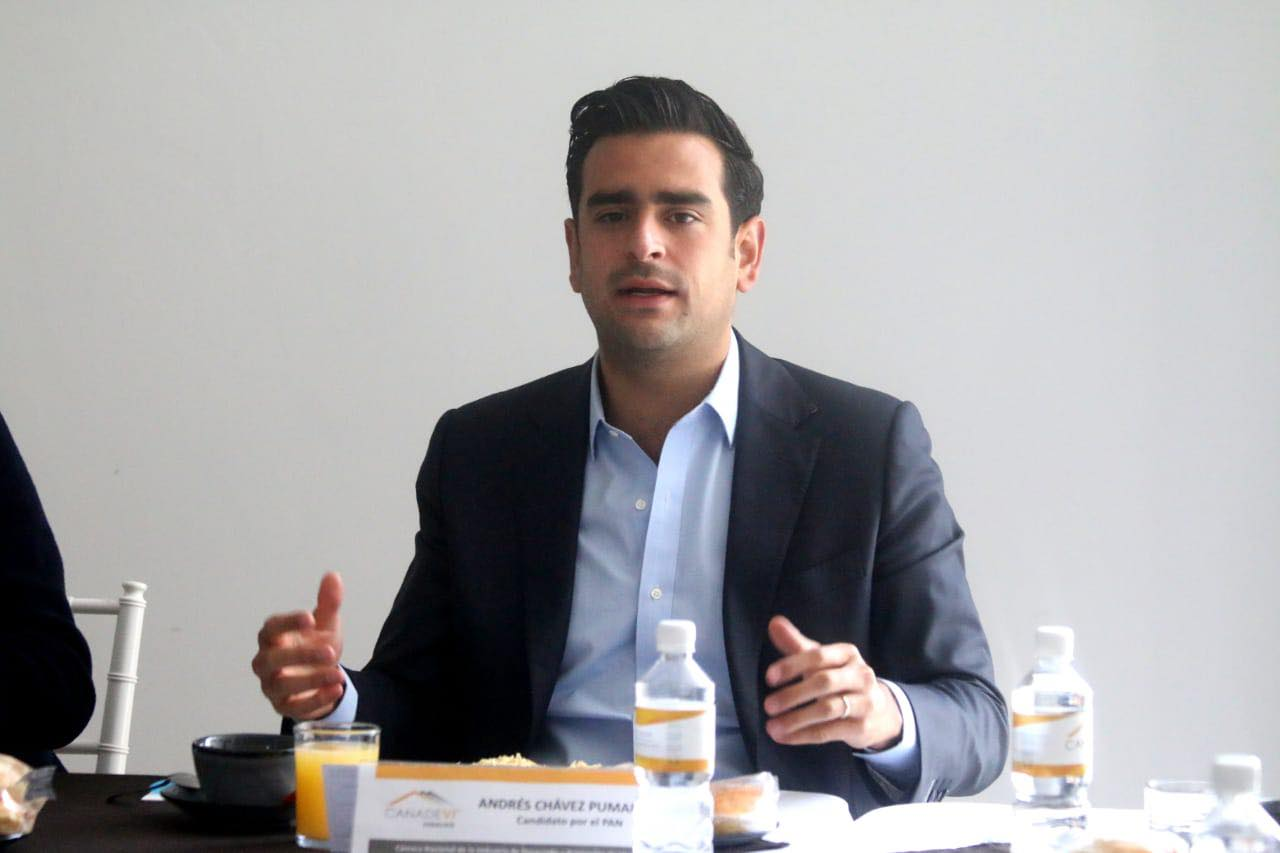 Andrés Chávez candidato PAN