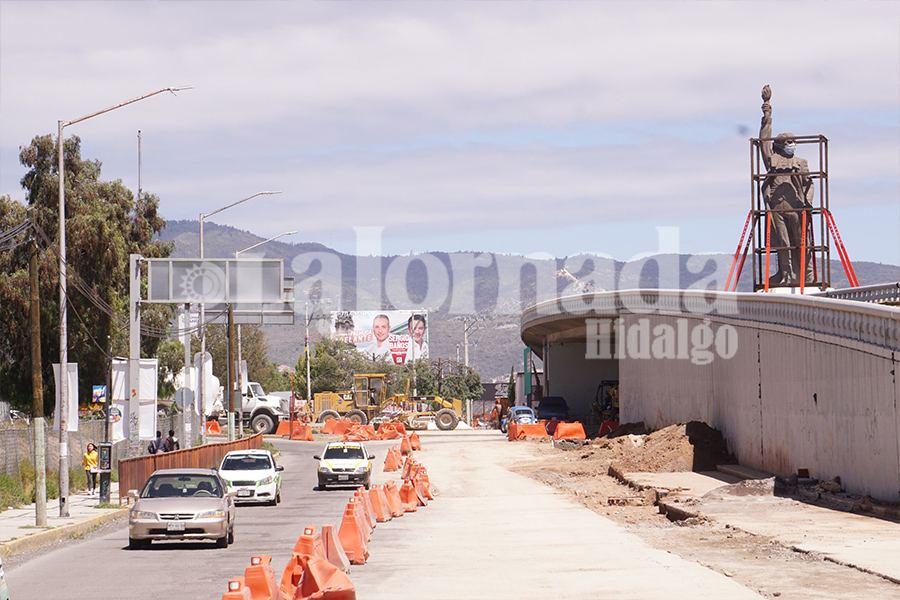 Continuarán obras en bulevar Felipe Ángeles