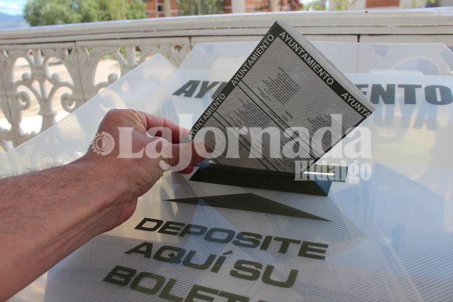 Elecciones Ayuntamiento, voto