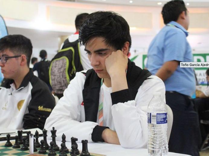 Antonio García mundial ajedrez