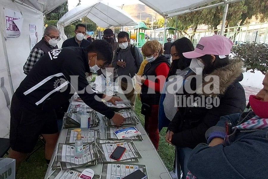 conteo de votos Pachuca