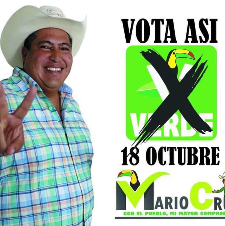 Candidato a la presidencia municipal de Mixquiahuala