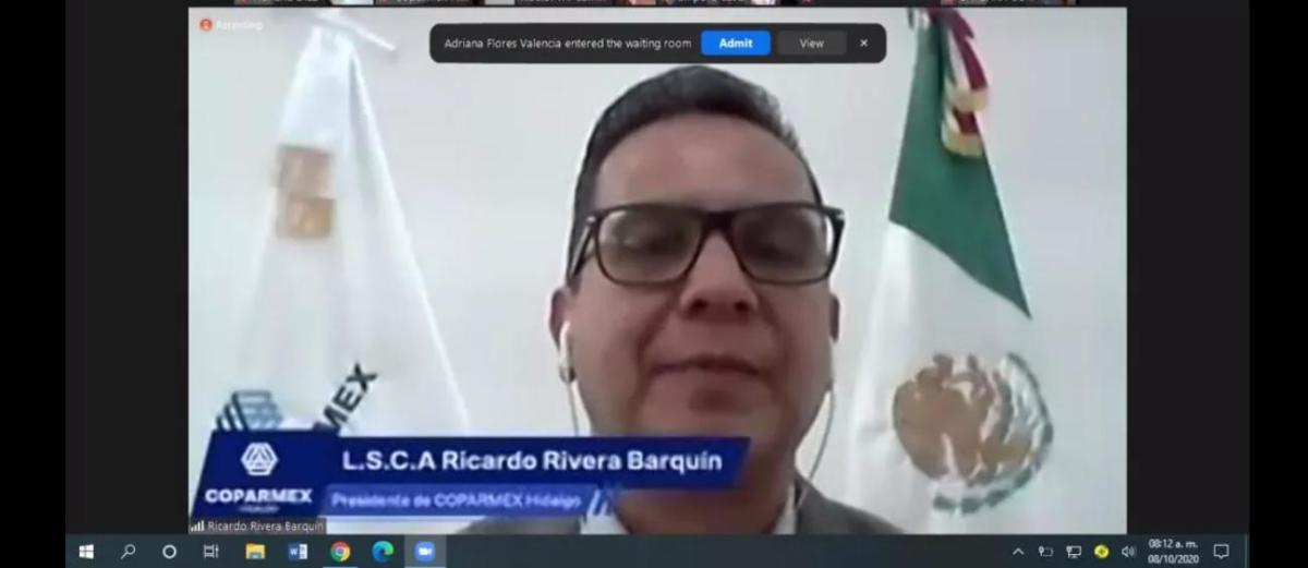 COPARMEX elecciones cubrebocas