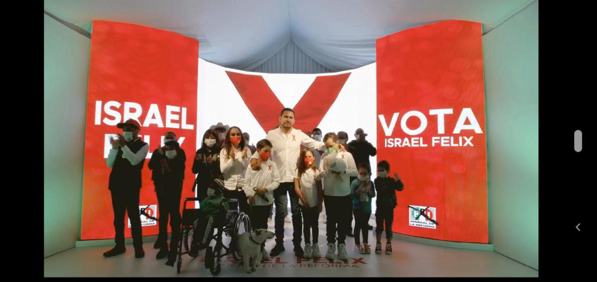 Cierre de campaña Israel Félix