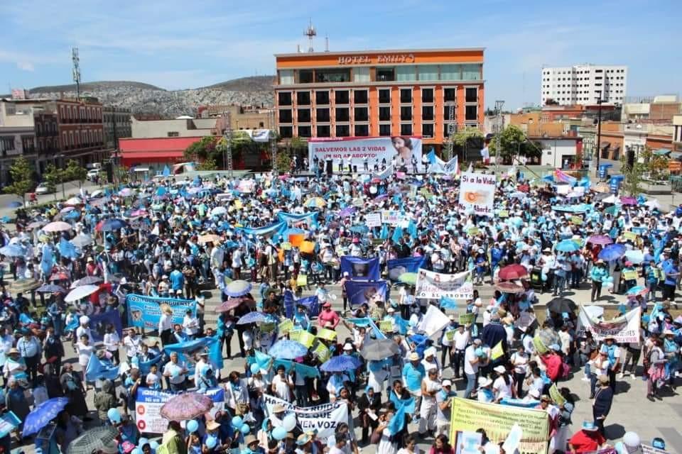 Organizaciones pro vida piden a Concejo de Pachuca gobernar sin ideologías