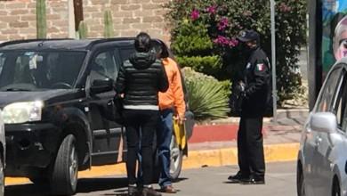 Policías municipales hacen rondines con personal de Moviparq