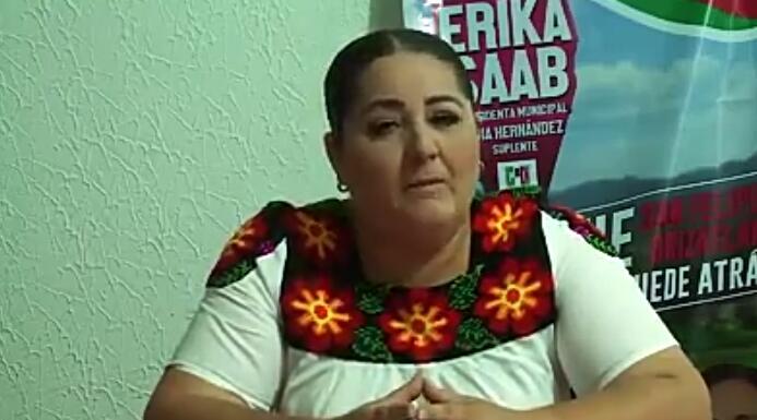 Continuará su campaña Erika Saab, amenazas no la intimidan