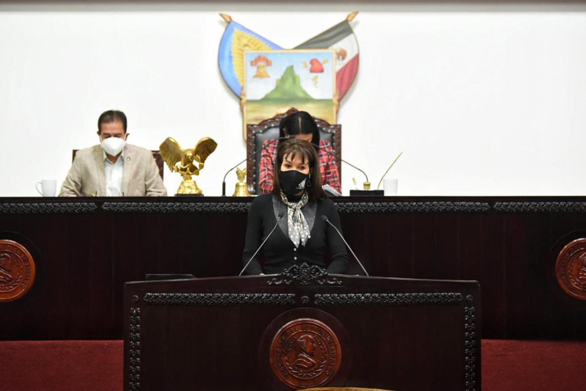 La legisladora hidalguense planteó la protección jurídica de las artesanías