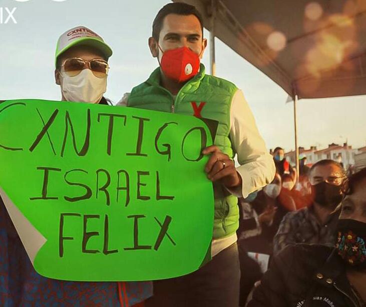 Israel Félix candidato Mineral de la Reforma
