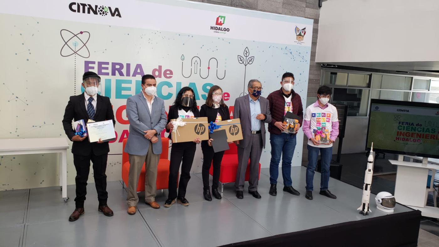 Alumnos de Cobaeh ganan pase a Feria Nacional de Ciencias