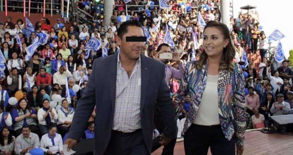 Se ampara Areli Maya esposa de exalcalde de Mineral de la Reforma