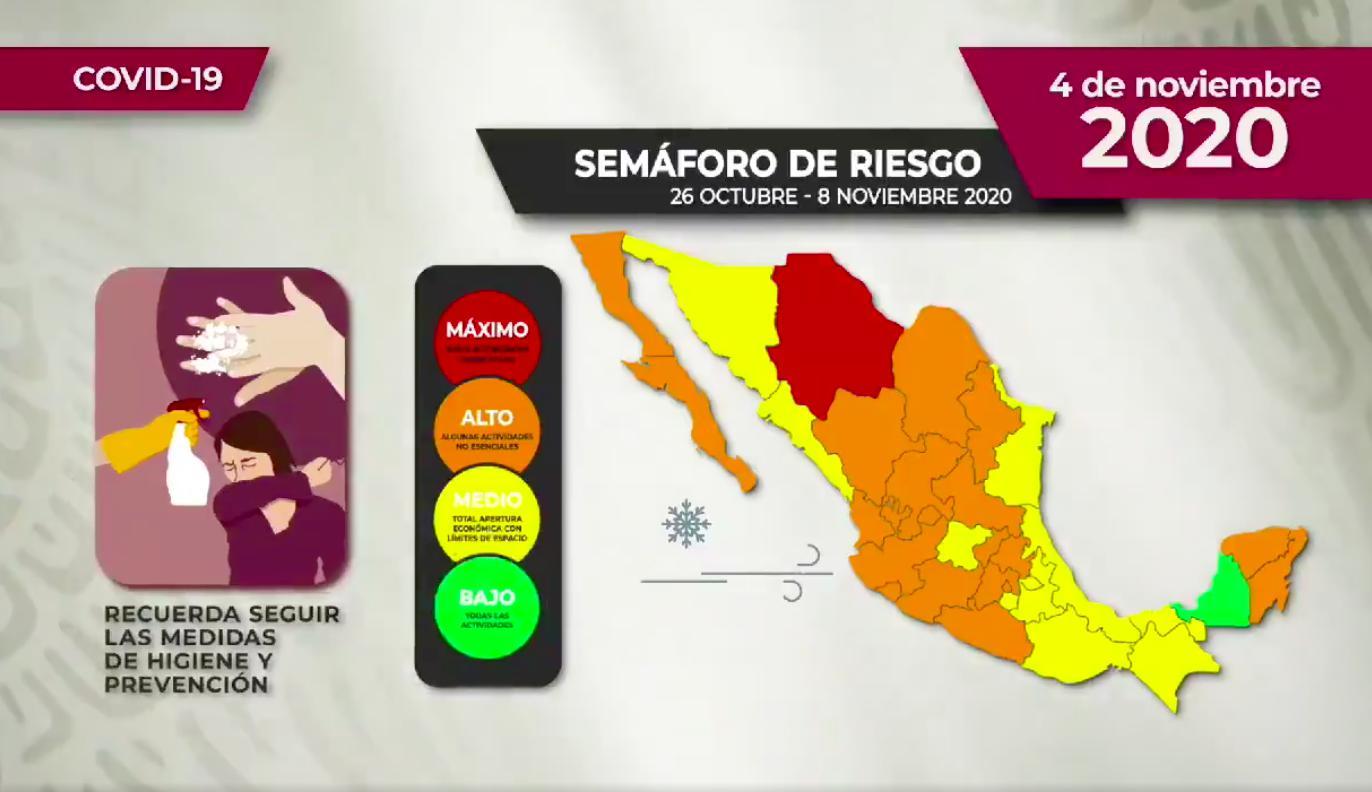 Covid 19 Hidalgo 4 noviembre