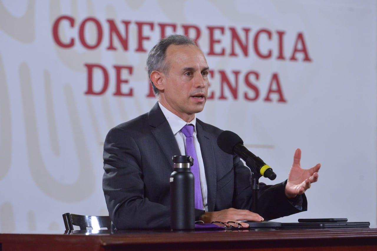 El subsecretario Hugo López-Gatell. Foto: Especial.