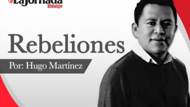 Rebeliones Hugo martínez blanco y negro