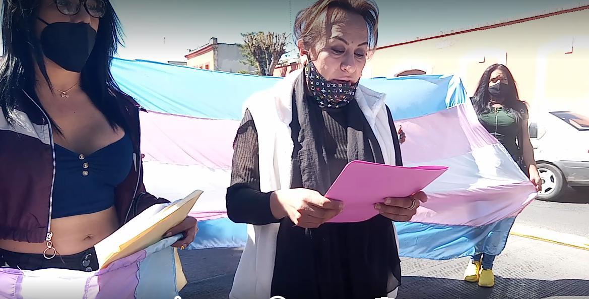 manifestación trans