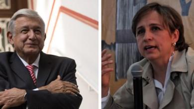 Carmen Aristegui se va contra AMLO