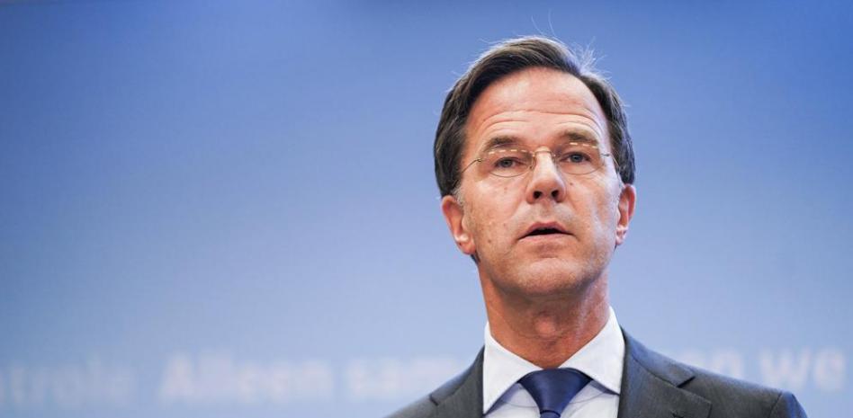 El primer ministro de Países Bajos, Mark Rutte AFP