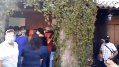 Panistas se agarran a golpes en Cuernavaca