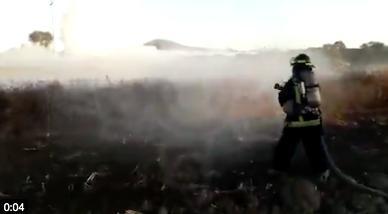 Fuga de gas en San Martin Texmelucan