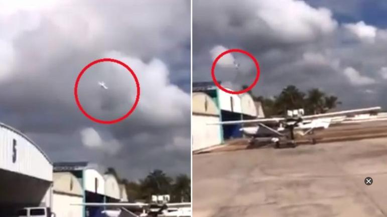 Se desploma avioneta en la que viajaba el nieto de 'El Señor de los Cielos'