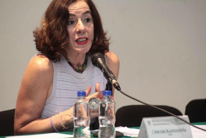 María Isabel Belausteguigoitia asumirá como directora del Centro de Investigaciones y Estudios de Género de la UNAM, en un ambiente de molestia. Foto tomada del Twitter @comision_DH