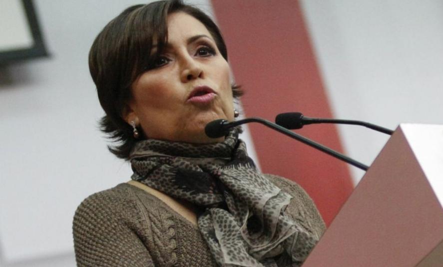 Rosario Robles, ex titular de la Sedatu se encuentra en el penal de Santa Martha desde el 13 de agosto del año pasado. Foto Cuartoscuro / Archivo