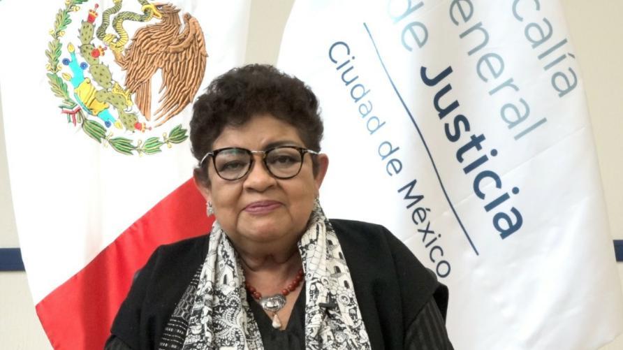 La fiscal general de Justicia, Ernestina Godoy Ramos, informó sobre la incidencia atípica de asesinatos de mujeres la semana pasada, el 18 de febrero de 2021. Foto Laura Gómez Flores