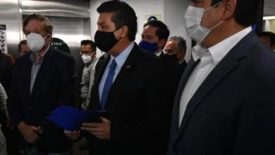 Francisco García Cabeza de Vaca, gobernador de Tamaulipas en la Cámara de Diputados. Foto Enrique Méndez