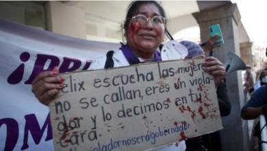 En Iguala, Guerrero, la activista Yolitzin Jaimes acusó que fue golpeada por mujeres simpatizantes de Félix Salgado Macedonio