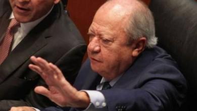 El ex líder del sindicato de Pemex. Foto José Antonio López / archivo