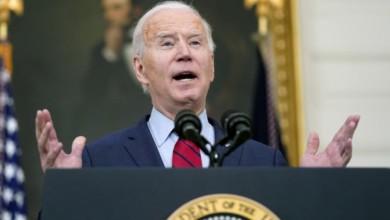 """""""No debemos esperar otro minuto (...) insto a mis colegas de la Cámara de Representantes y del Senado a actuar"""", dijo el presidente Joe Biden al referirse al tiroteo de Colorado, el 23 de marzo de 2021. Foto Ap"""