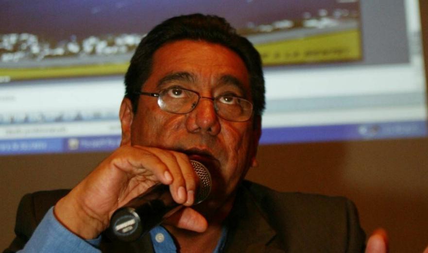 Félix Salgado Macedonio, candidato de Morena para la gubernatura de Guerrero. Foto Francisco Olvera / Archivo