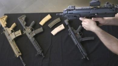 Armas del fabricante alemán Heckler & Koch en imagen de archivo. Foto Ap