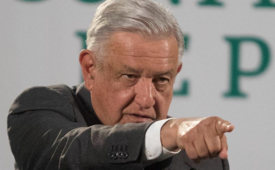 El presidente López Obrador durante su conferencia matutina de este miércoles 31 de marzo. Foto Cuartoscuro
