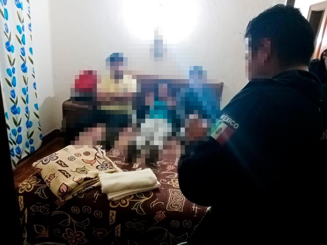 Familia rescatada de extorsión