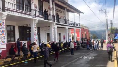 Abuelitos de Tenango de Doria esperan vacuna anti Covid-19