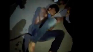 Ladrón golpeado en Ixmiquilpan